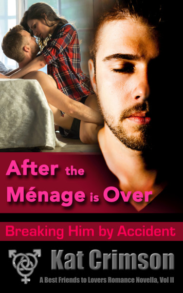 After the Ménage is Over: Breaking Him by Accident Maybe it's true what they say: two is a couple, but three's a crowd…