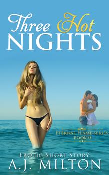 Three Hot Nights, by A J Milton: Free Erotic Romance, Instafreebie Erotica